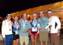 AJ, Angela, Kevin, Julie, Kip, and Joe post race