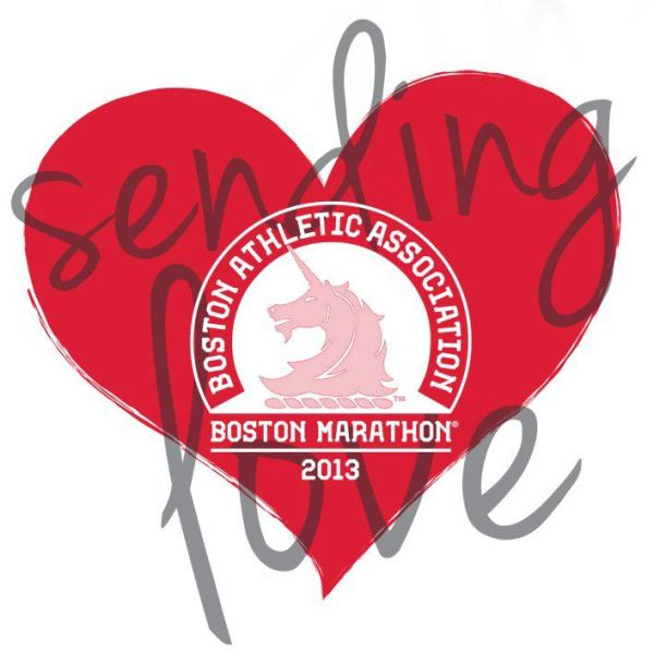 Boston Marathon Heart